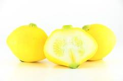 Yellow eggplant Stock Images