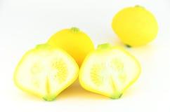 Yellow eggplant Royalty Free Stock Image