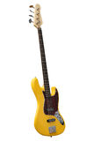 Yellow electric guitar Royalty Free Stock Photography