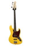 Yellow electric guitar Royalty Free Stock Photos