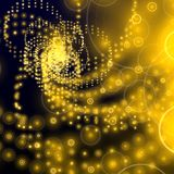 Yellow electronic background Royalty Free Stock Images