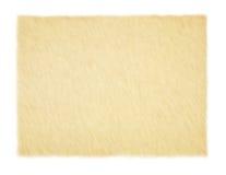 Yellow empty papyrus. Yellow empty papyrus isolated on white background Royalty Free Stock Image