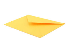 Yellow envelope Royalty Free Stock Image