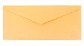 Yellow envelope Royalty Free Stock Photography