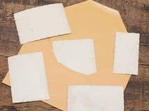 Yellow envelope Royalty Free Stock Image