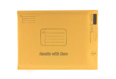 Yellow Envelope Stock Photos
