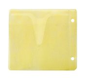 Yellow envelope for CD Stock Images