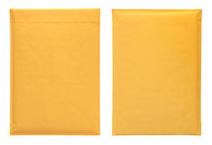 Yellow envelopes Royalty Free Stock Image