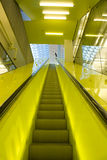 Yellow Escalator Stock Photos