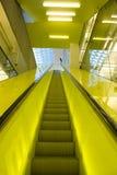 Yellow Escalator Stock Photos