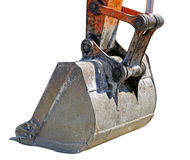 Yellow excavator machines Stock Photo