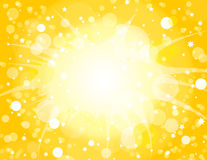 Yellow Explosion Background Royalty Free Stock Photography