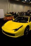 yellow för 458 spindel Arkivbilder