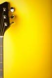 yellow för bakgrundsmusik Arkivfoton