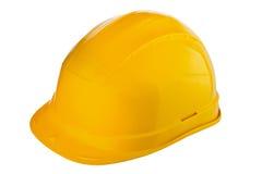 yellow för bana för clipping hjälm bland annat isolerad vit Arkivbild