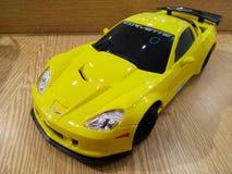 yellow för bilcorvette sportar royaltyfria bilder