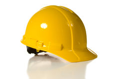 yellow för hård hatt Royaltyfri Foto
