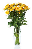 yellow för robuskevase Royaltyfria Foton