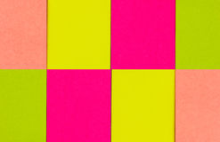 yellow för skugga för paper bana för clippinganmärkning klibbig Arkivbilder