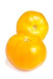 yellow för tomater två Royaltyfri Bild
