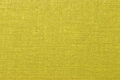 Yellow fabric. Surface for background Stock Image
