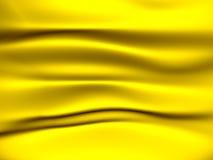 Yellow fabric background Stock Photos