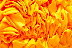 Yellow fabric Stock Photo