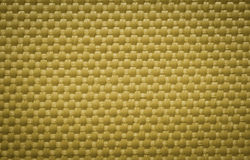 Yellow fabric canvas Stock Photography