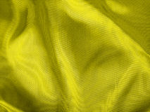 Yellow Fabric Closeup Royalty Free Stock Image