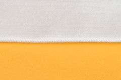 Yellow fabric Stock Photography