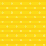 Yellow fabric with dots. Yellow fabric with little dots Royalty Free Illustration