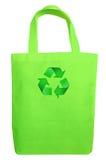 Yellow Fabric eco recycle bag Stock Photos
