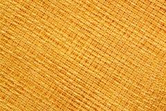 Yellow fabric pattern Stock Photo