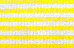 Yellow fabric striped texture. Clothes background Royalty Free Stock Photos