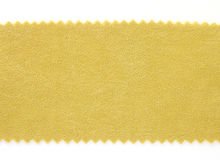 Yellow fabric swatch samples texture Stock Photo