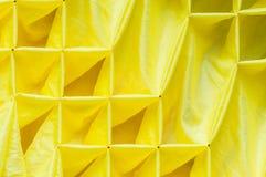 Yellow fabric Stock Photos