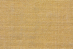 Yellow fabric texture. Closeup of a yellow fabric texture background Royalty Free Stock Image