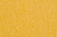 Yellow Fabric Texture Background Stock Photo
