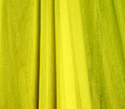 Yellow fabric texture Stock Photos