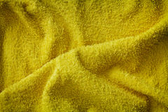 Yellow Fabric Texture Royalty Free Stock Image