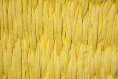 Yellow fabrics Royalty Free Stock Photography