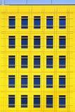 Yellow facade Stock Image