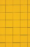 Yellow Facade Panel Background Natural Texture Royalty Free Stock Images