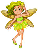 Yellow fairy Royalty Free Stock Image