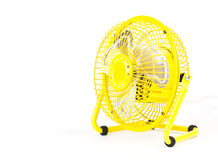 Yellow fans. Stock Photography