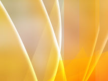 Yellow fantasy Stock Image
