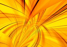 Yellow fantasy Stock Photography