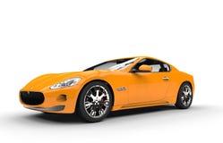Yellow Fast Car Italian Stock Photos