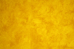 Yellow Faux Painted wall Stock Photo