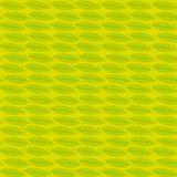 Yellow feather seamless pattern vector wallpaper. Green and yellow feather seamless pattern. Vector wallpaper like pop art, graphic resource, creative background royalty free illustration